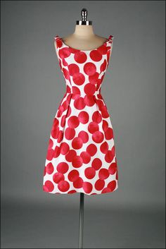 1960's Polka Dot Dress