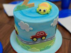 Dětský dort autíčka First Birthdays, Cake, Food, One Year Birthday, Kuchen, Essen, Meals, Torte, Cookies