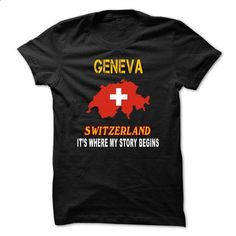 geneva - IT IS WHERE MY STORY BEGINS - #sweater for teens #comfy sweater. CHECK PRICE => https://www.sunfrog.com/LifeStyle/geneva--IT-IS-WHERE-MY-STORY-BEGINS.html?68278