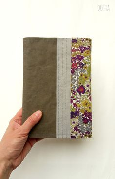 DIY Kindle Cover made of SnapPap and Liberty Fabrics #kindle #snappap #libertyfabrics
