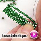 Tutorial - Videos: How to do fast Peyote Bead Weaving | Beadaholique