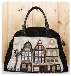 กระเป๋าลายบ้าน(2)