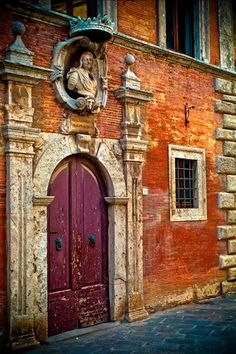 Doors ~ in Central, Italy