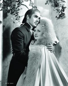 Still of Tyrone Power and Norma Shearer in Marie Antoinette (1938)