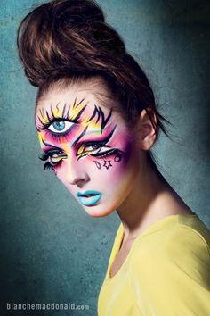 Makeup by Blanche Macdonald Makeup instructor and graduate Jenna Kuchera.