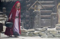 Amanda Seyfried in Red Riding Hood.