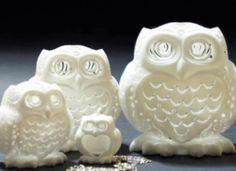 Cool 3D printed stelliform owl