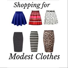 Shopping for Modest Clothes