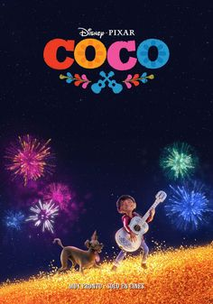 Coco - new poster -> https://teaser-trailer.com/movie/coco/  #Coco #CocoMovie #DisneyPixar #MoviePoster