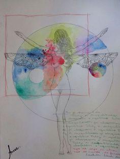 desequilíbrio #drawing #aquarela