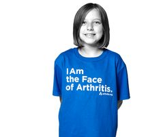 I am the Face of Arthritis Aww poor thing, it sure hurts, but I'm 50, she a young girl. xo