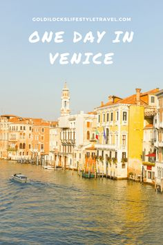 One day in Venice Italy Venice Italy Hotels, Cities In Italy, Venice Travel, Italy Travel, The Beautiful Country, Romantic Places, Italy Vacation, Nature Photos, Nature Images