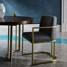 West Elm offers modern furniture and home decor featuring inspiring designs and colors. Create a stylish space with home accessories from West Elm. Restaurant Chairs, Modern Furniture, Furniture, Dining Chairs, Armchair, Playroom Storage Furniture, Dining Arm Chair, Home Decor, Dining