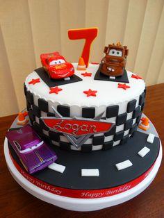 Disney Cars Themed Cake xMCx