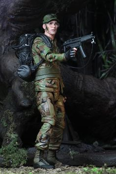 2017 San Diego comic-con NECA exclusives Rick Hawkins Figure Predator série rare