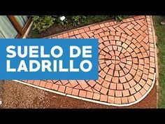 ¿Cómo hacer un suelo de ladrillo? - YouTube Brick Flooring, Mobile Home, Beautiful Asian Girls, Chicago Cubs Logo, Diy And Crafts, Pergola, Outdoor Blanket, House Design, Landscape