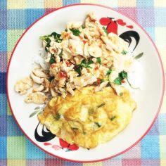 Chicken basil #gastronaughty #gastronaut #gastro #naughty #food #foodphography…