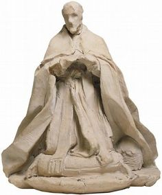 Terracotta sketch model for the monument to Pope Alexander VII, by Gianlorenzo Bernini, Rome, Italy, about 1669–70. Museum no. A.17-1932