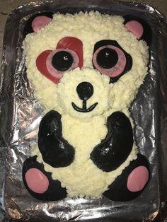 91619b42aca Mandy Panda Beanie Boo cake made with love!  My Food Affair