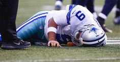 Dallas Cowboys quarterback Tony Romo could miss 6-10 weeks with this injury.