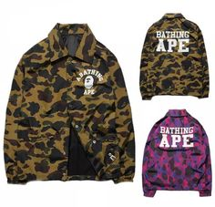 9c03a50688cd BAPE A Bathing Ape Camoflauge Jacket Boy Fashion