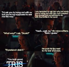 book scene from Divergent Be Brave Divergent, Divergent Four, Divergent Hunger Games, Tris And Four, Divergent Fandom, Divergent Funny, Divergent Trilogy, Divergent Insurgent Allegiant, Divergent Quotes