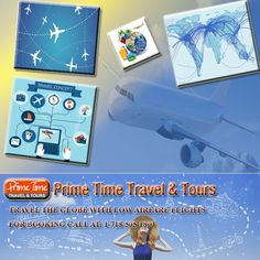 Travel The Globe With Lowest Airfare Flights  You can tell your travel agent to look for the different airports that send flights on adjustable days and times of traveling and by obtaining tickets for the low price carriers you can save plenty of money. Purchasing tickets from the travel agent is very convenient and the travel agent can perform proper search for the travelers to obtain some really economical airfares.  https://www.primetimetravelnyc.com/airlines/travel-the-globe-with-lowest-