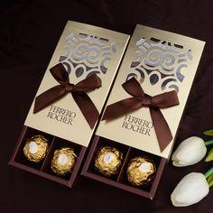 TB2tf97dpXXXXayXXXXXXXXXXXX_!!665178416 Chocolate Wedding Favors, Gold Wedding Favors, Wedding Favor Boxes, Candy Gift Box, Candy Gifts, Ferrero Rocher Box, Cheap Gift Bags, Paper Candy, Box Supplier