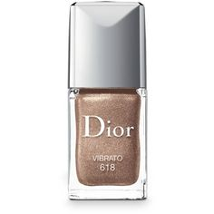 Dior Vibrato Vernis Gel Shine  Long Wear Nail Lacquer ($27) ❤ liked on Polyvore featuring beauty products, nail care, nail polish, makeup, nail, beauty, vibrato, glossy nail polish, shiny nail polish and gel nail color