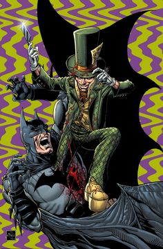 Batman vs. the Mad Hatter