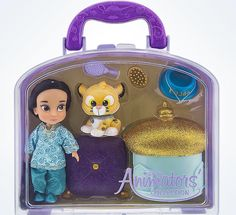 Disney Animators' Collection Jasmine & Friends Mini Doll Play Set New with Case