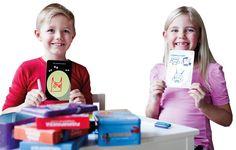 Pyyhittävät tekemiskortit tarjoavat oppia ja iloa 4-99 -vuotiaille!