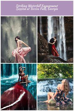 Dancing under the waterfalls by bwaworga.deviantart.com on @DeviantArt waterfall Photoshoot