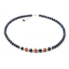 Colier Perle Negre si Rudraska Beaded Necklace, Bracelets, Jewelry, Culture, Bead, Beaded Collar, Jewlery, Bijoux, Schmuck