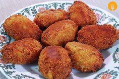 Croquetas caseras de merluza. Vídeo y Receta de pescado | Recetas de Cocina Casera | Recetas fáciles y sencillas