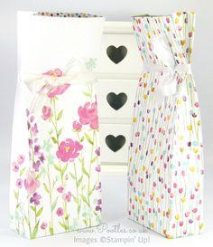 Suzette's Painted Blooms Bag Tutorial