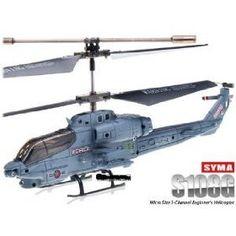 SYMA S108G 3.5 CH Infrared Mini Radio Controlled Marine Cobra Helicopter Gyro $23.25
