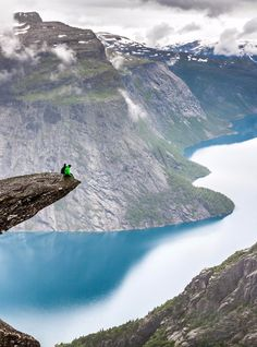 The 50 most beautiful places in Europe | Trolltunga Norway