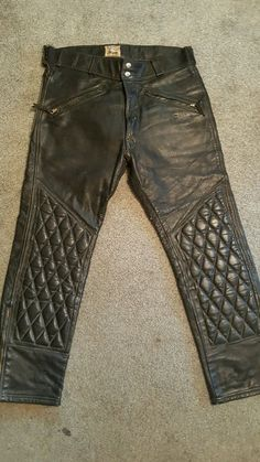 1960's Langlitz Leather's Competition Breeches Vintage Motorcycle Racing pants