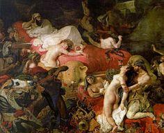 The Death Of Sardanapalus, Eugene Delacroix