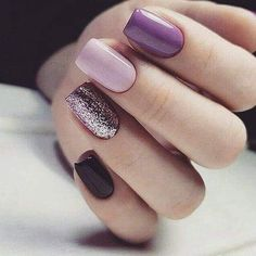 60 Simple Acrylic Coffin Nails Designs Ideas for 2019 - - 60 Simple Acrylic Coffin Nails Designs Ideas for 2019 Ongles vernis Cute Acrylic Nails, Glitter Nail Art, Cute Nails, Pretty Nails, Smart Nails, Purple Nail, Pink Nails, Green Nail, Nail Polish Designs