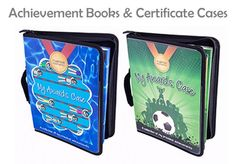 My Proud Moments Achievements Books for Badges, Certificates and Medals £22.49