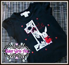Miss O the Pig Birthday Shirt-Monogramed. $22.00, via Etsy.