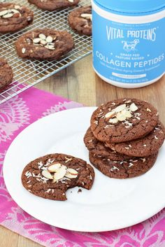 Double Chocolate Power Cookies with Vital Proteins Collagen Peptides