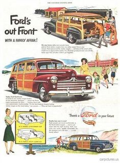 1947 Ford Woddy Station Wagon - Car Pictures