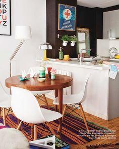 Amei os vasinhos #interior #design #table #wood #small #casadevalentina