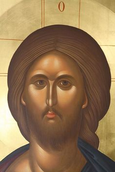 George speaks of the conversion of criminals to Christ in the terrible prisons of Communist Romania. Byzantine Icons, Byzantine Art, Religious Icons, Religious Art, Christian Drawings, Christ Pantocrator, Images Of Christ, Paint Icon, Jesus Face