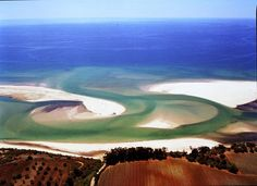 Island Tavira in #Portugal is separate from the mainland just a few hundred meters, its length is about 12 km and width — 1 km. Beautiful beaches !