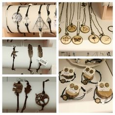 #Berlin #Friedrichshain #DIY Wunderschöne Ringe, Ketten, Armbänder und Ohrstecker aus Holz von Friederike!