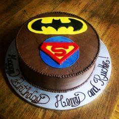 Batman vs Superman Cake | Fondant Cake Images | Pinterest